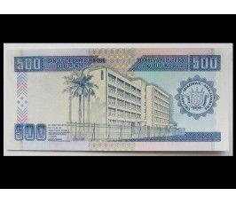 Бурунди 500 франков 1995 г.
