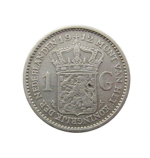 Нидерланды 1 гульден 1912 г.