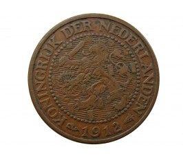 Нидерланды 2 1/2 цента 1912 г.