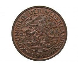Нидерланды 2 1/2 цента 1941 г.