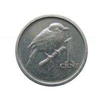 Острова Кука 1 цент 2017 г.