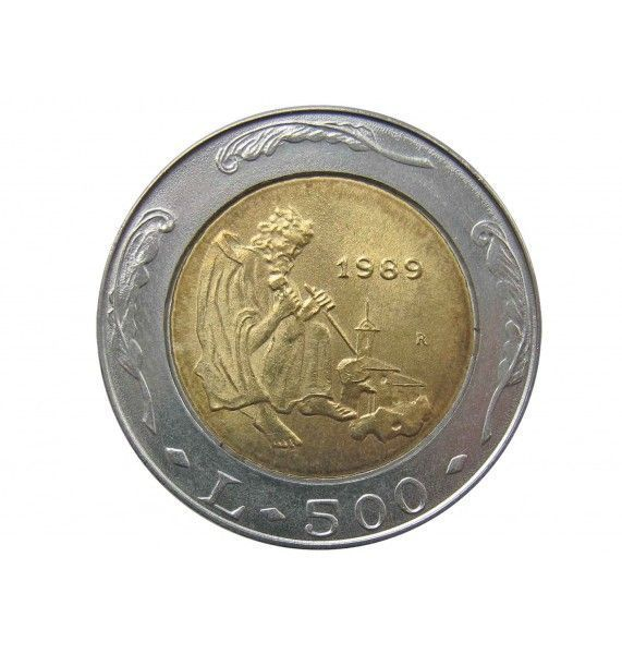 Сан-Марино 500 лир 1989 г. (История)