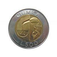 Сан-Марино 500 лир 1998 г. (Химия)