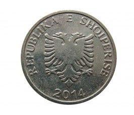 Албания 5 лек 2014 г.