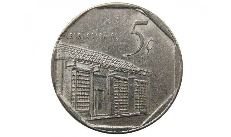 Куба 5 сентаво 2000 г.