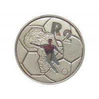 Южная Африка 2 ранда 1996 г. (Кубок африканских наций) футляр