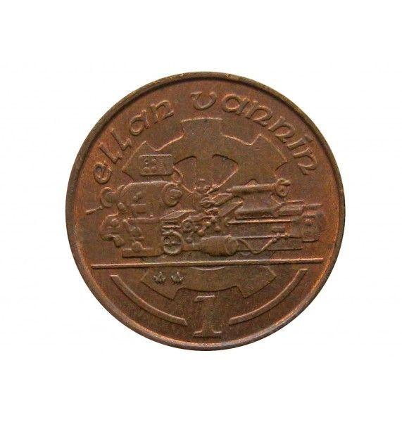 Остров Мэн 1 пенни 1990 г. АА