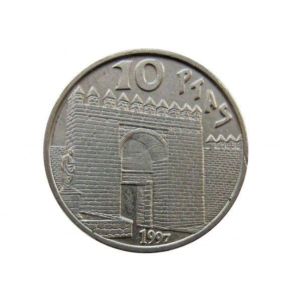 Испания 10 песет 1997 г. (Сенека)