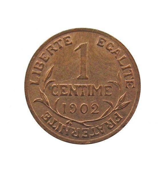 Франция 1 сантим 1902 г. A