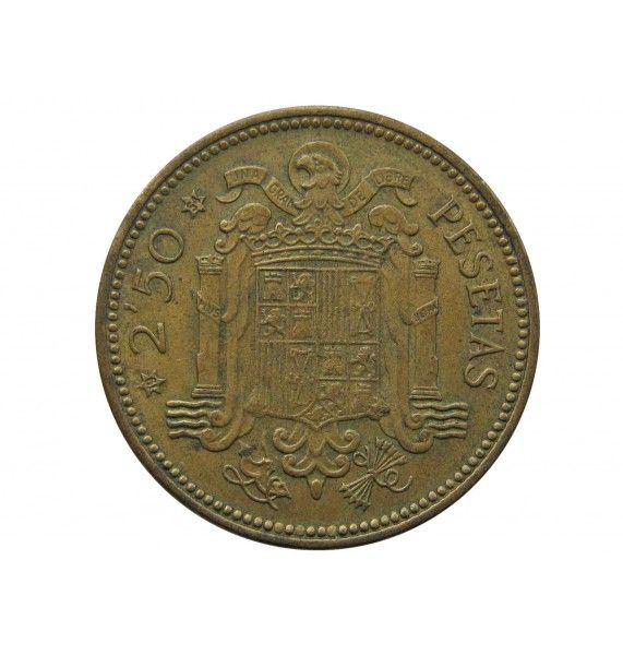 Испания 2 1/2 песеты 1953 (54) г.