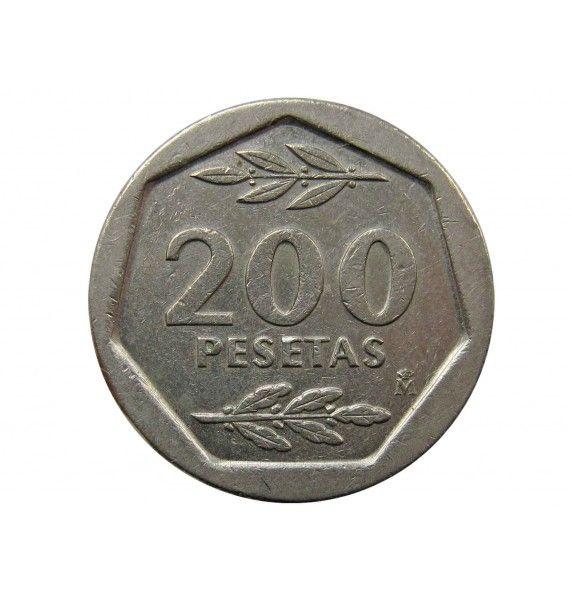 Испания 200 песет 1986 г.