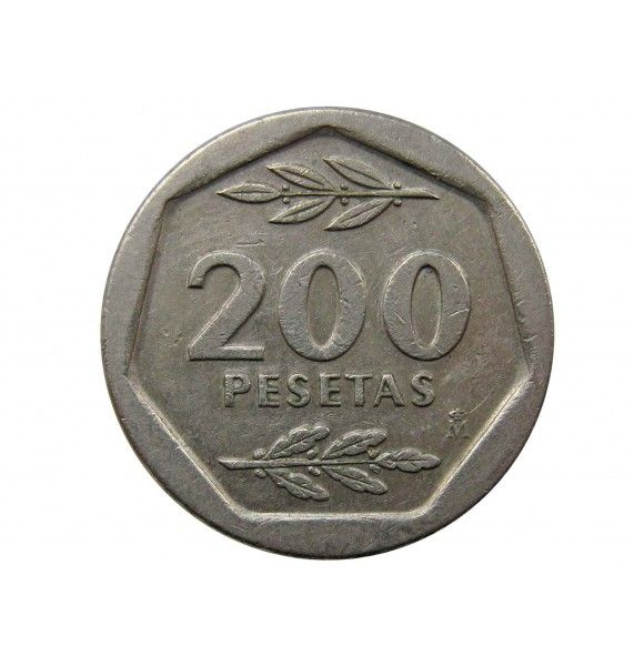 Испания 200 песет 1988 г.