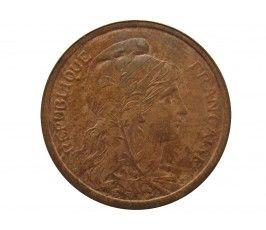Франция 2 сантима 1913 г. A