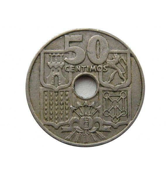 Испания 50 сентимо 1949 (62) г.