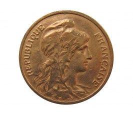 Франция 5 сантимов 1908 г. A