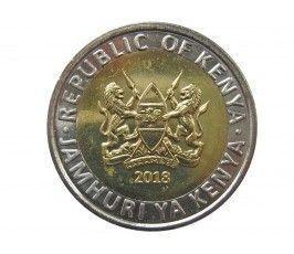 Кения 5 шиллингов 2018 г.
