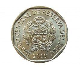 Перу 1 новый соль 2019 г. (Андская Кошка)