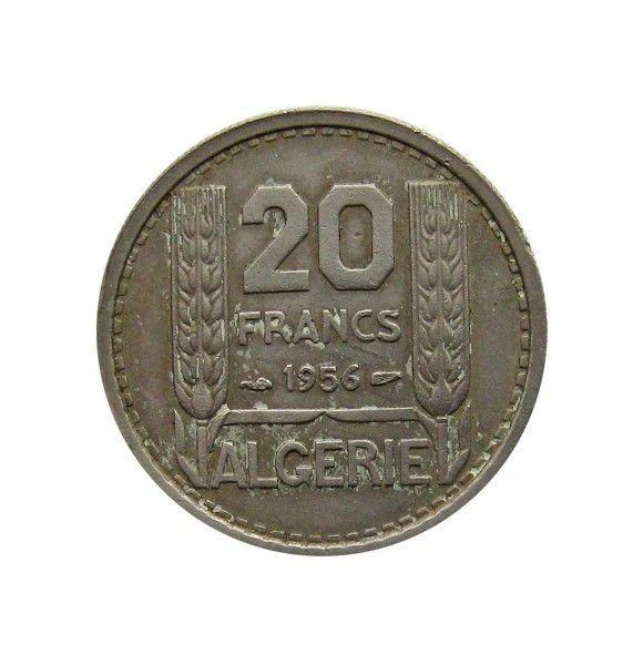 Алжир 20 франков 1956 г.