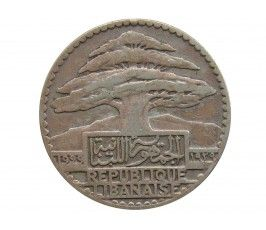 Ливан 25 пиастров 1929 г.