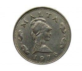 Мальта 2 цента 1976 г.
