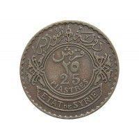 Сирия 25 пиастров 1929 г.
