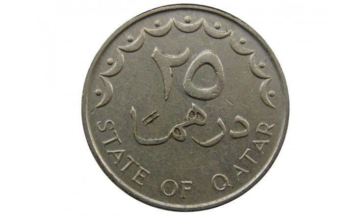 Катар 25 дирхам 1990 г.