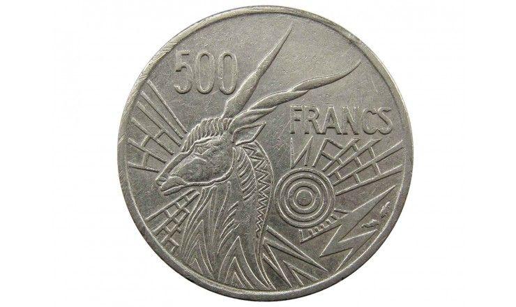 Центрально-Африканские штаты 500 франков 1976 г. C