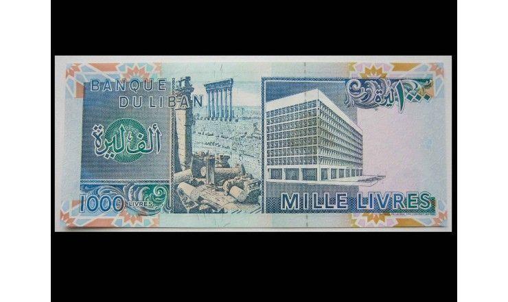 Ливан 1000 ливров 1990 г.