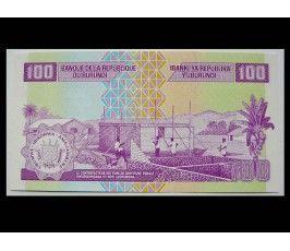 Бурунди 100 франков 2011 г.