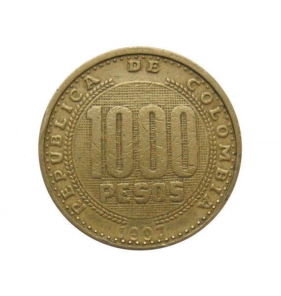 Колумбия 1000 песо 1997 г.