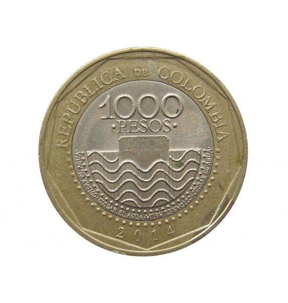 Колумбия 1000 песо 2014 г.