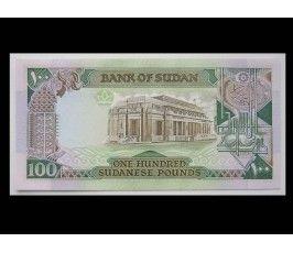 Судан 100 фунтов 1989 г.
