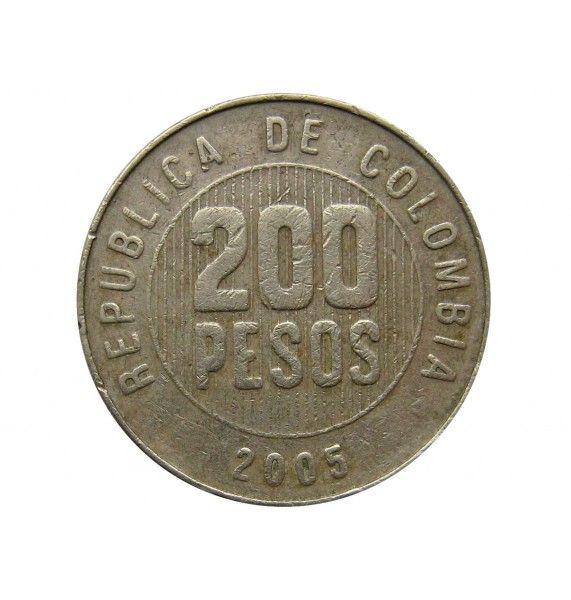Колумбия 200 песо 2005 г.