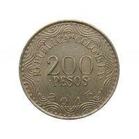 Колумбия 200 песо 2015 г.