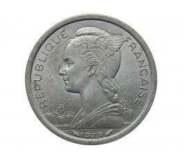Французская Территория Афаров и Исса 1 франк 1975 г.