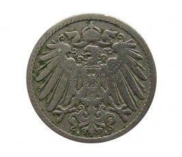 Германия 5 пфеннигов 1890 г. A