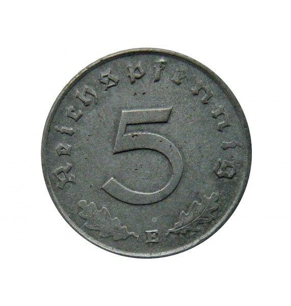 Германия 5 пфеннигов 1940 г. E