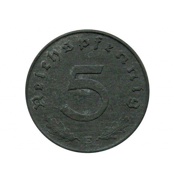 Германия 5 пфеннигов 1941 г. E