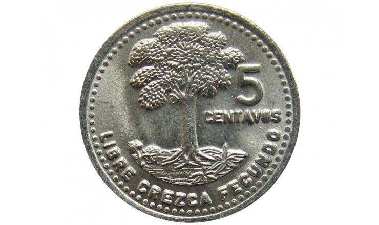 Гватемала 5 сентаво 1994 г.