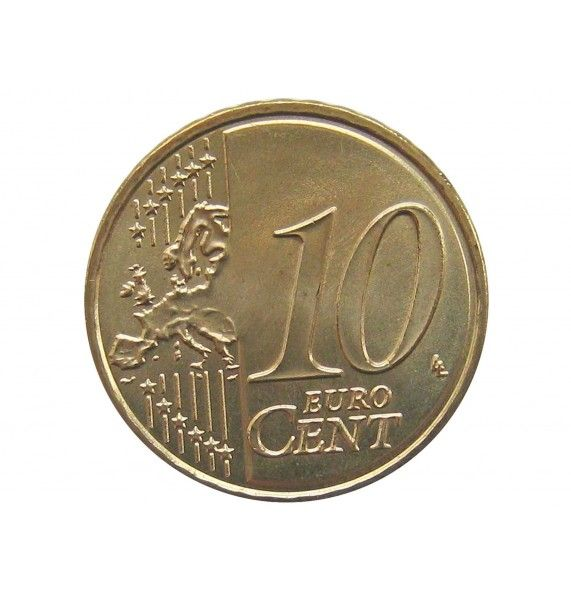 Австрия 10 евро центов 2019 г.