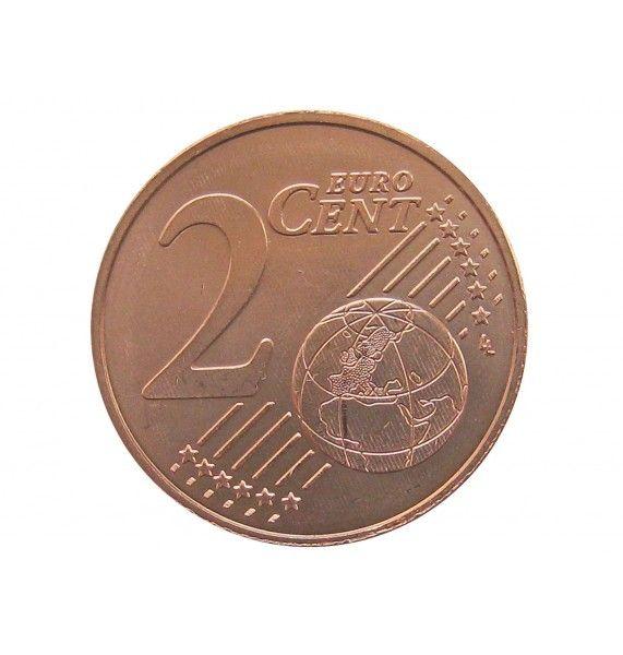 Австрия 2 евро цента 2019 г.