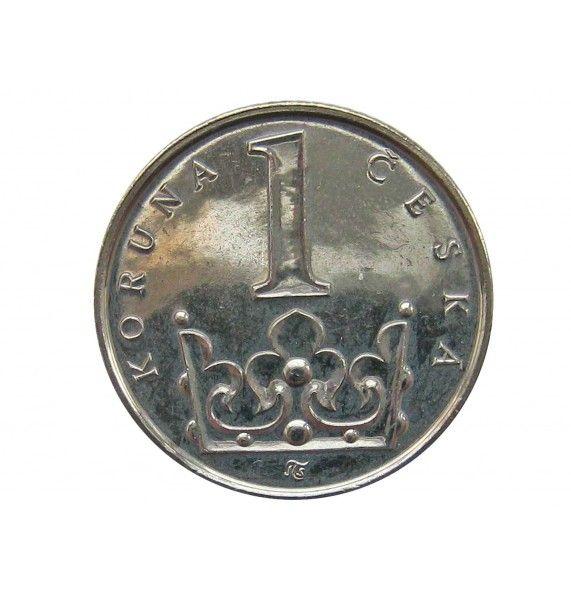 Чехия 1 крона 2011 г.