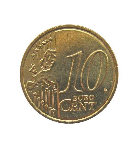 Греция 10 евро центов 2011 г.