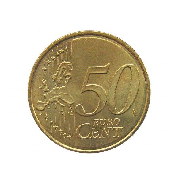 Испания 50 евро центов 2018 г.