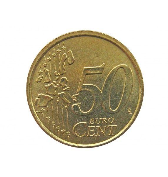 Италия 50 евро центов 2003 г.
