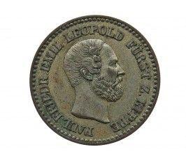 Липпе-Детмольд 1 грош 1860 г. A