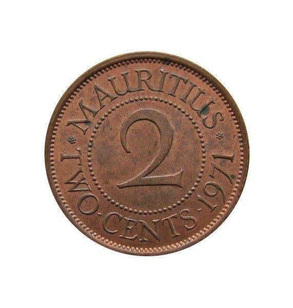 Маврикий 2 цента 1971 г.
