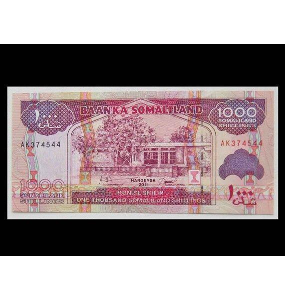 Сомалиленд 1000 шиллингов 2011 г.