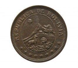 Боливия 1 боливиано 1951 г.