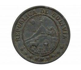 Боливия 20 сентаво 1942 г.